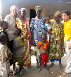 With My Mali Family