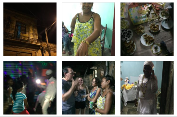 Cuba party for Santeros