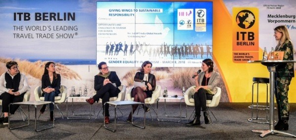 Gender Equality Panel at ITB Berlin