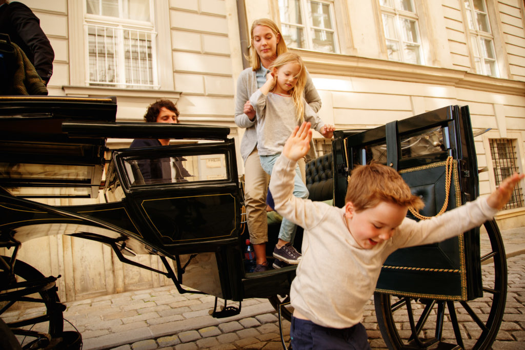 Carriages tour Vienna's Old Town