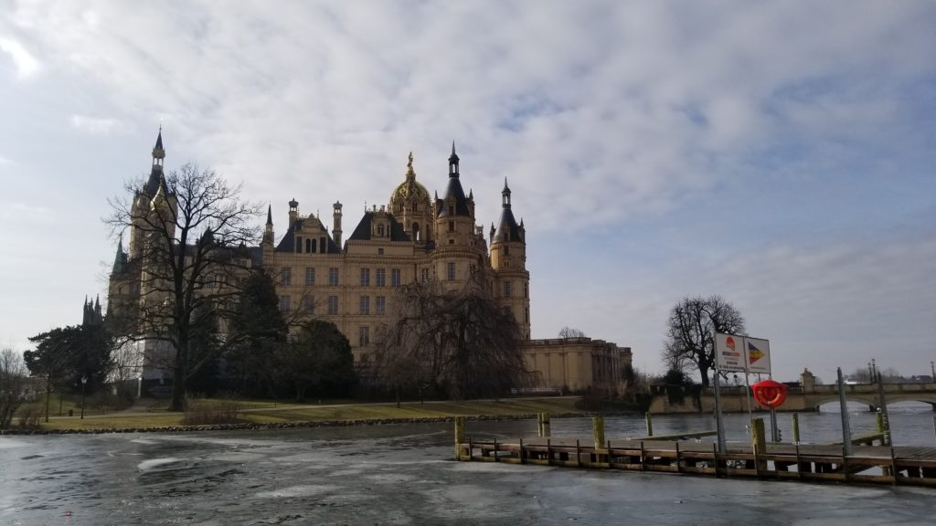 Schwerin Castle in Wismar.