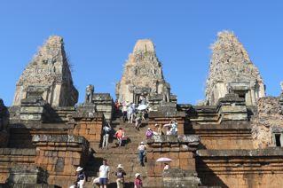 Temples at Angkor Wat, Cambodia