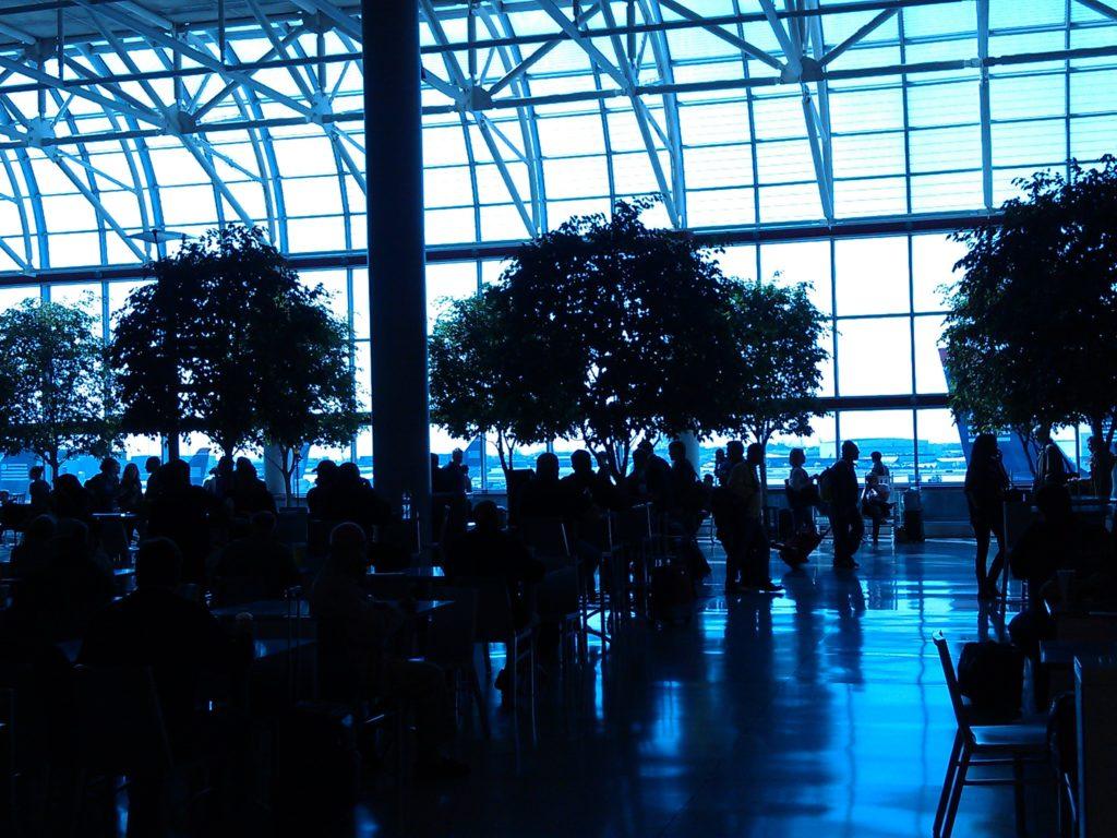 Airport terminal at Charlotte, North Carolina