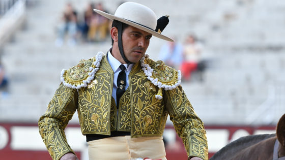 Bullfighter Joserra Lozano in Madrid