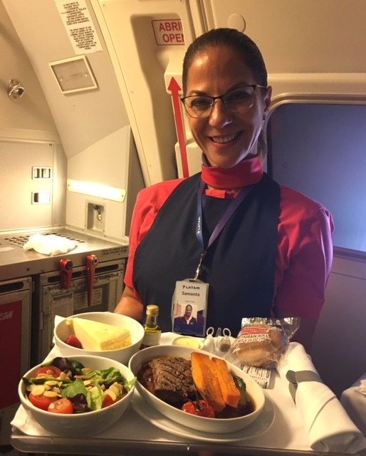 LATAM flight attendant