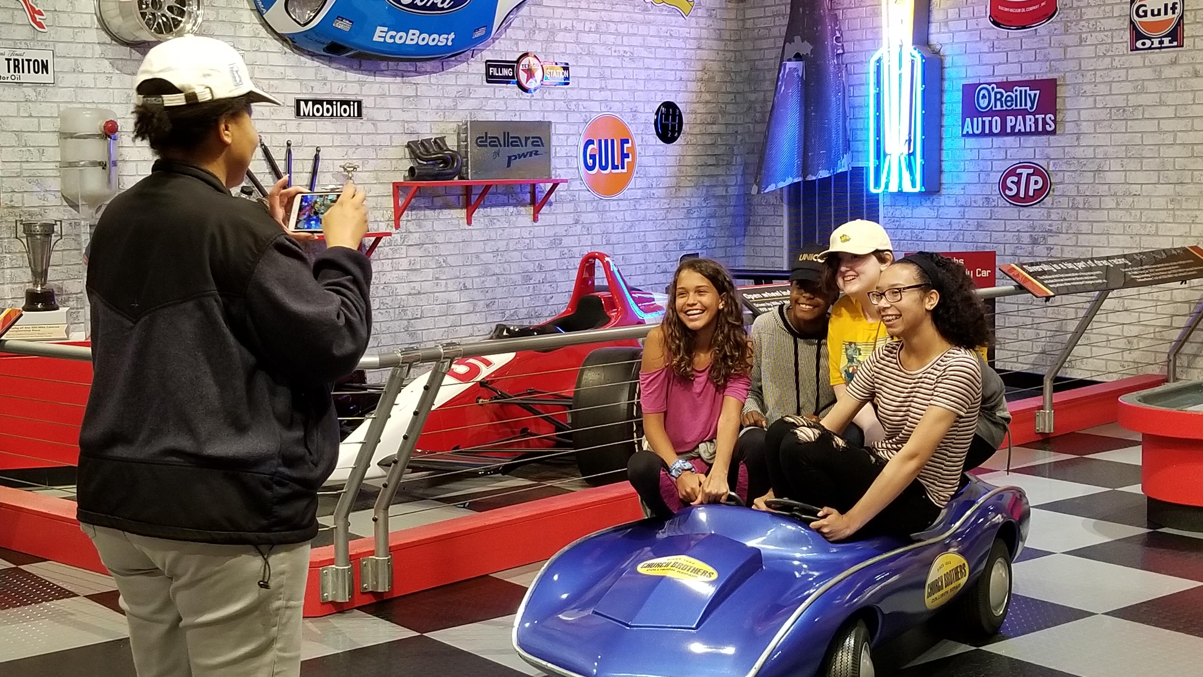 The Children's Museum Indy 500 Exhibit