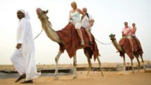 desert safari on camels