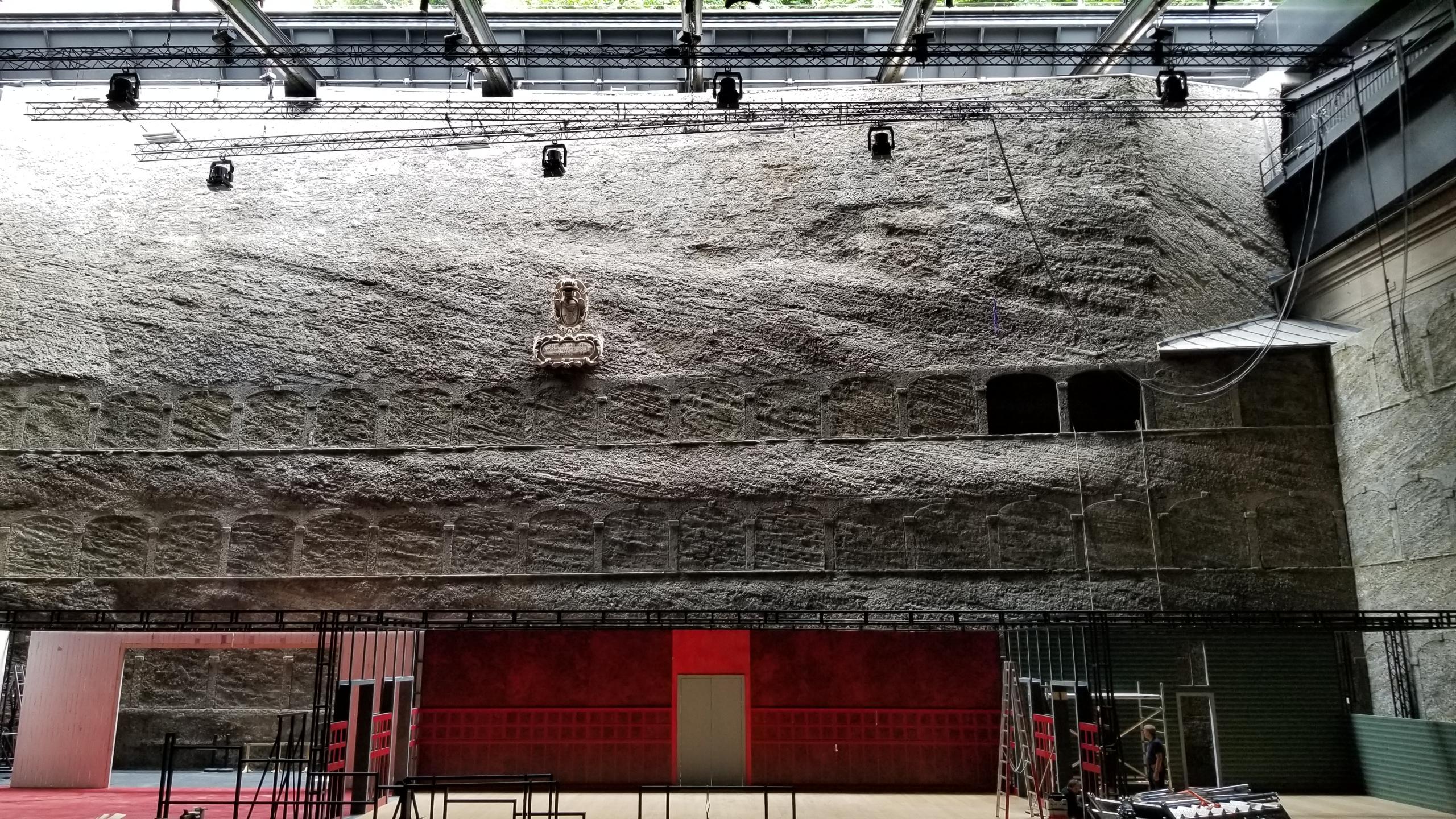 Theatre set Festspielhaus