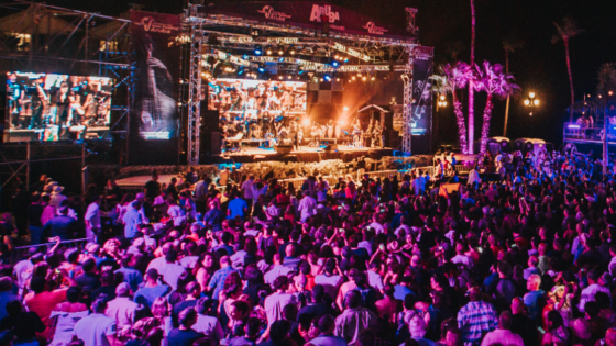 The Seajazz Festival is one of Aruba's biggest musical events.