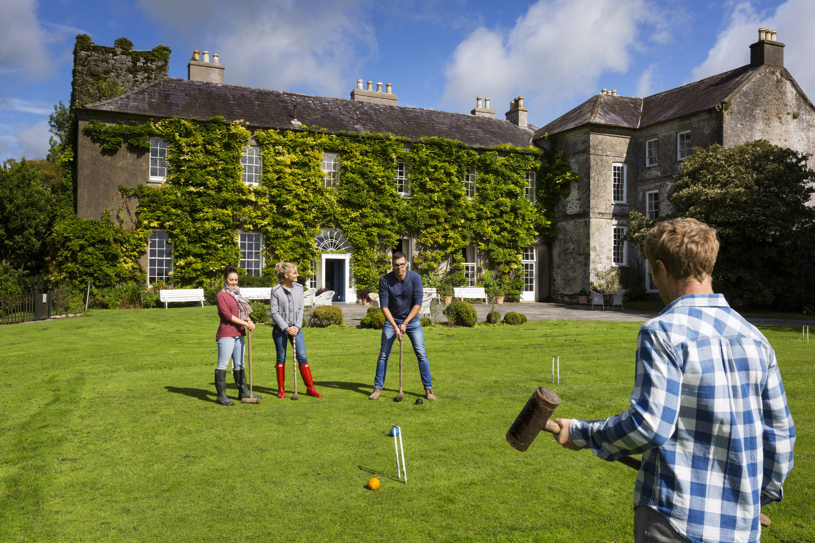 Croquet at Ballymaloe House