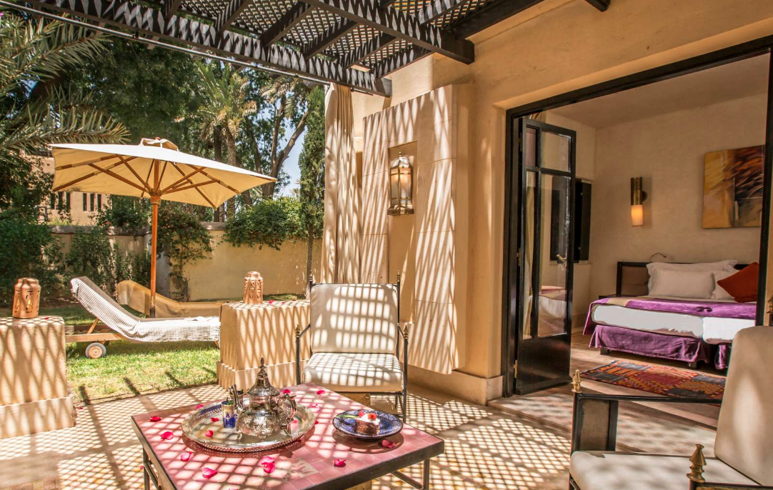 Garden Suites at Club Med la Palmeraie outside Marrakech