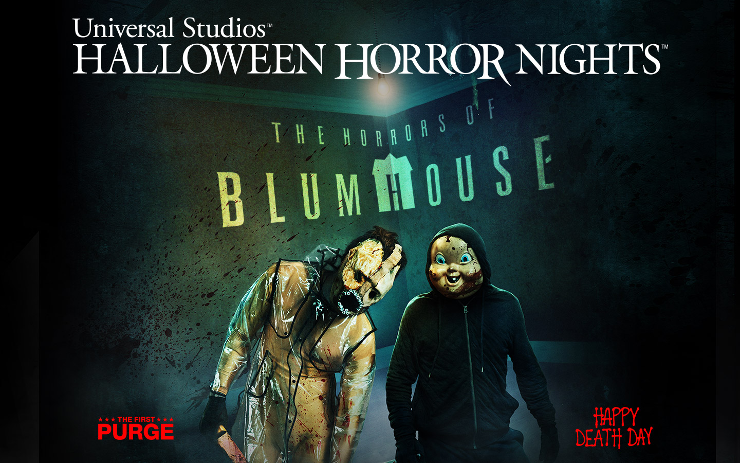 The Horrors of Blumhouse is one of many terrifying experiences at Universal Studios' Halloween Horror Nights.
