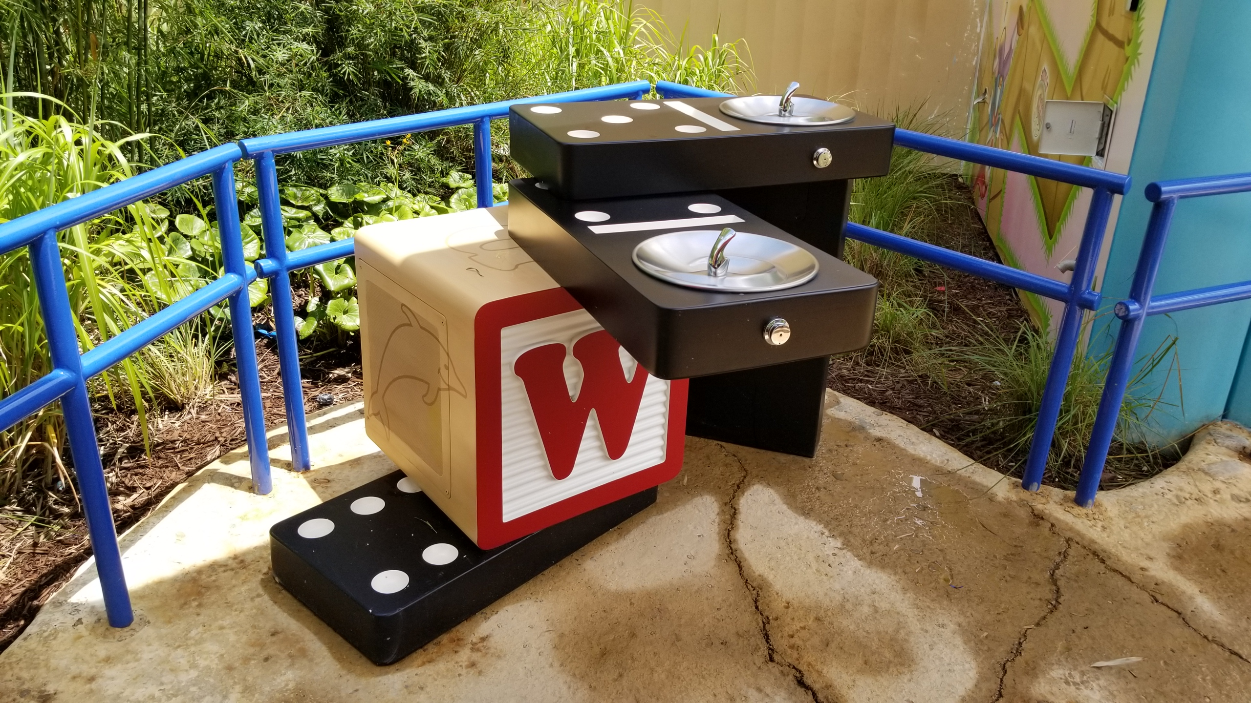 Toy Story Land water fountain