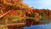 Apple River Wisconsin fall foliage