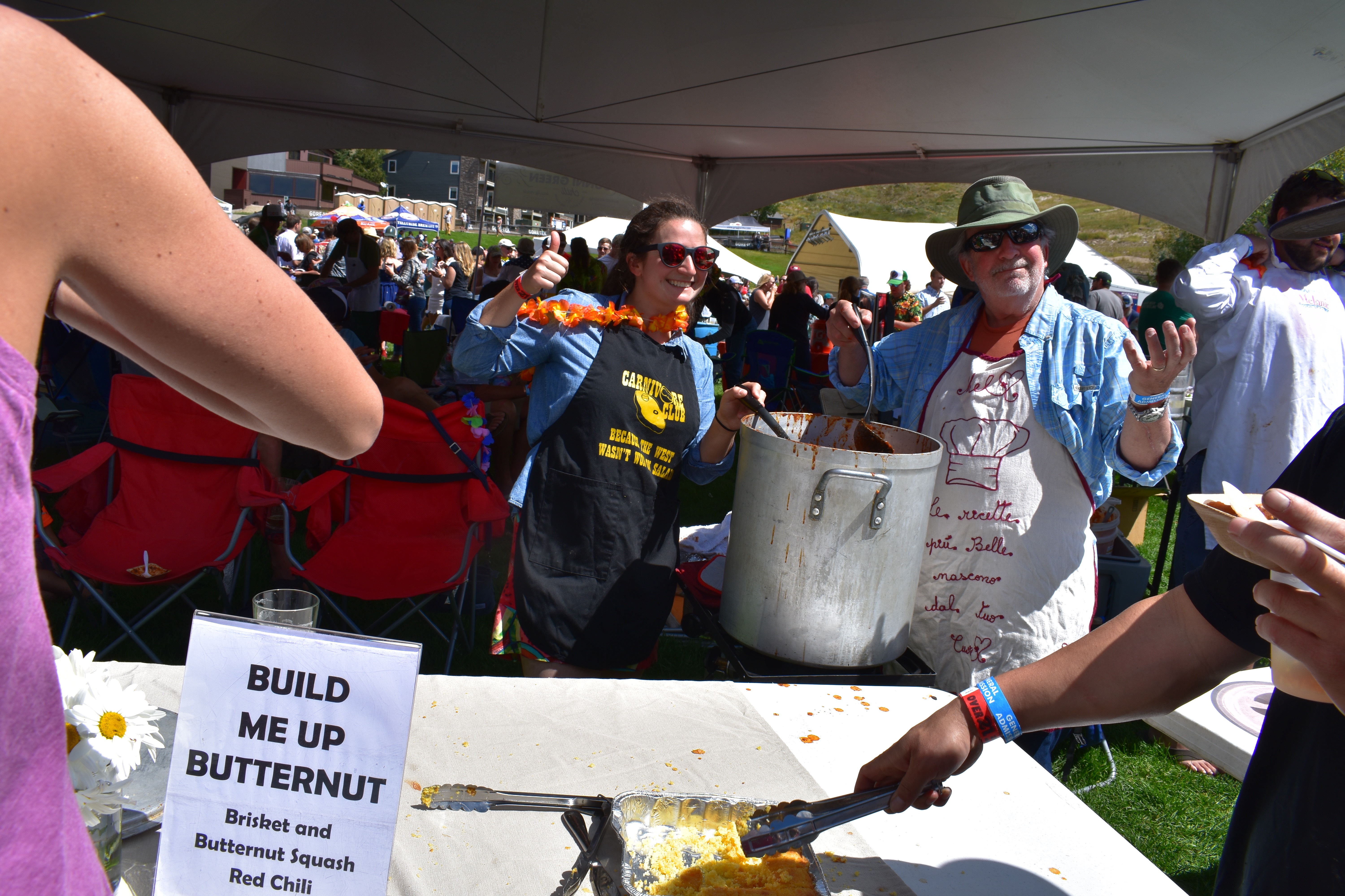 Yemma family competes in a fall Chile Cookoff festival