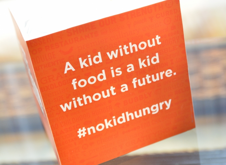 #nokidhungry is a cause kids can relate to.