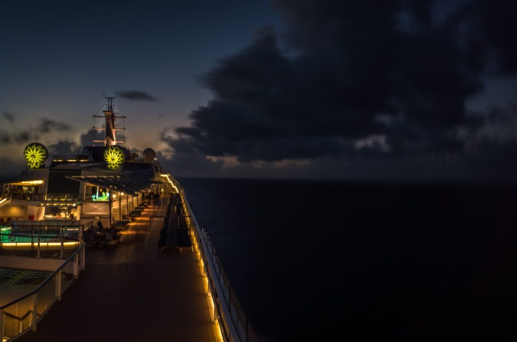 Celebrity Equinox evening illumination