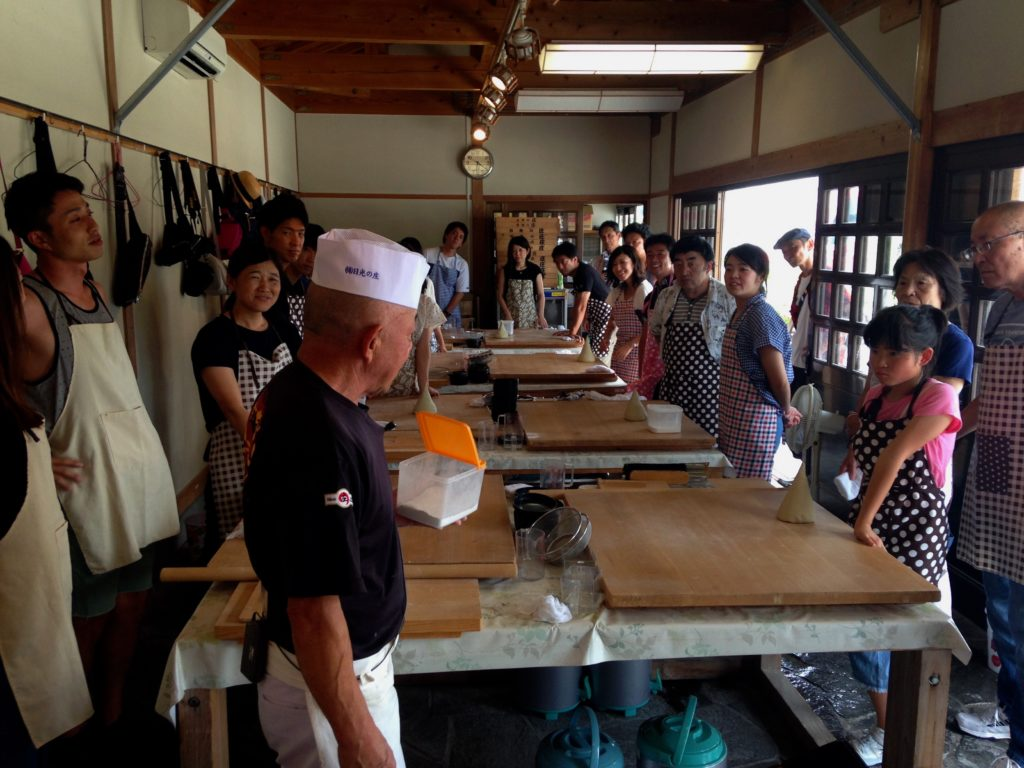 Soba noodle workshop is tasty fun
