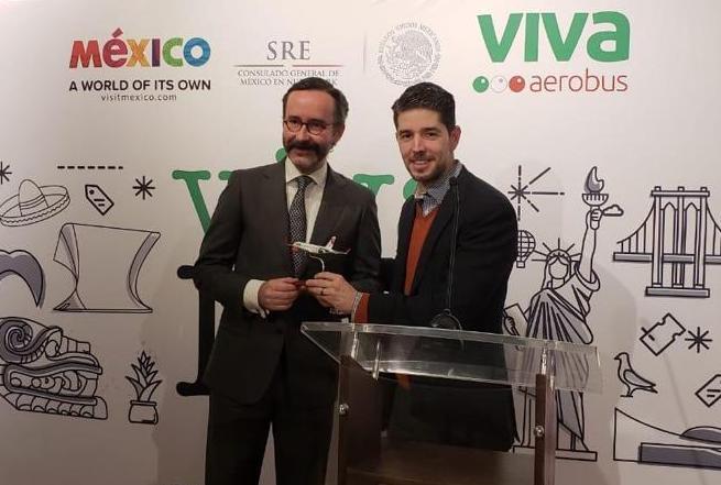 Officials promote new Viva Aerobus Flights