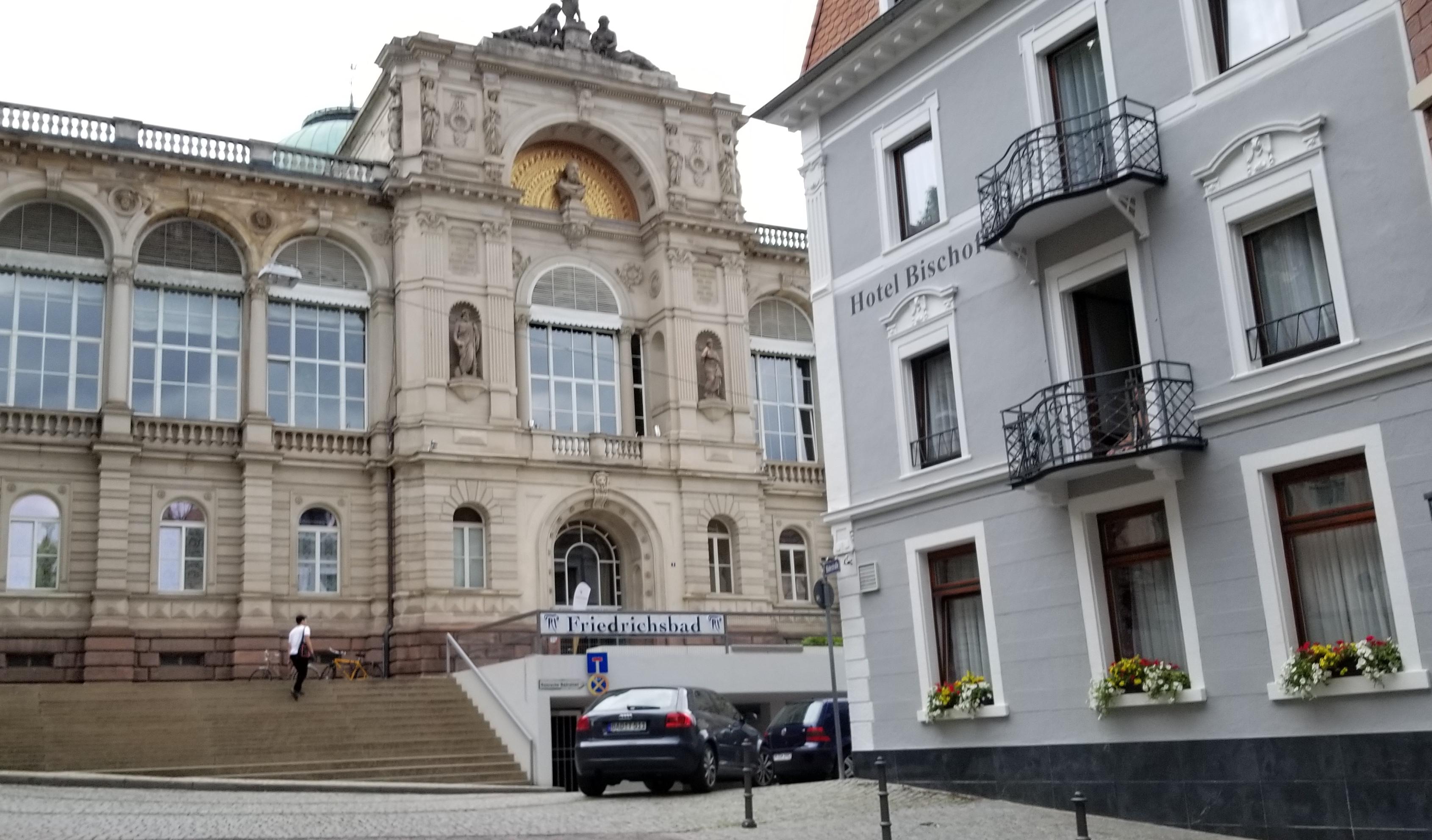 palatial 19th-century Friedrichsbad public bath