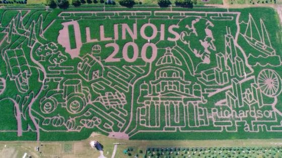 Take an Adventure in a Corn Maze This Fall