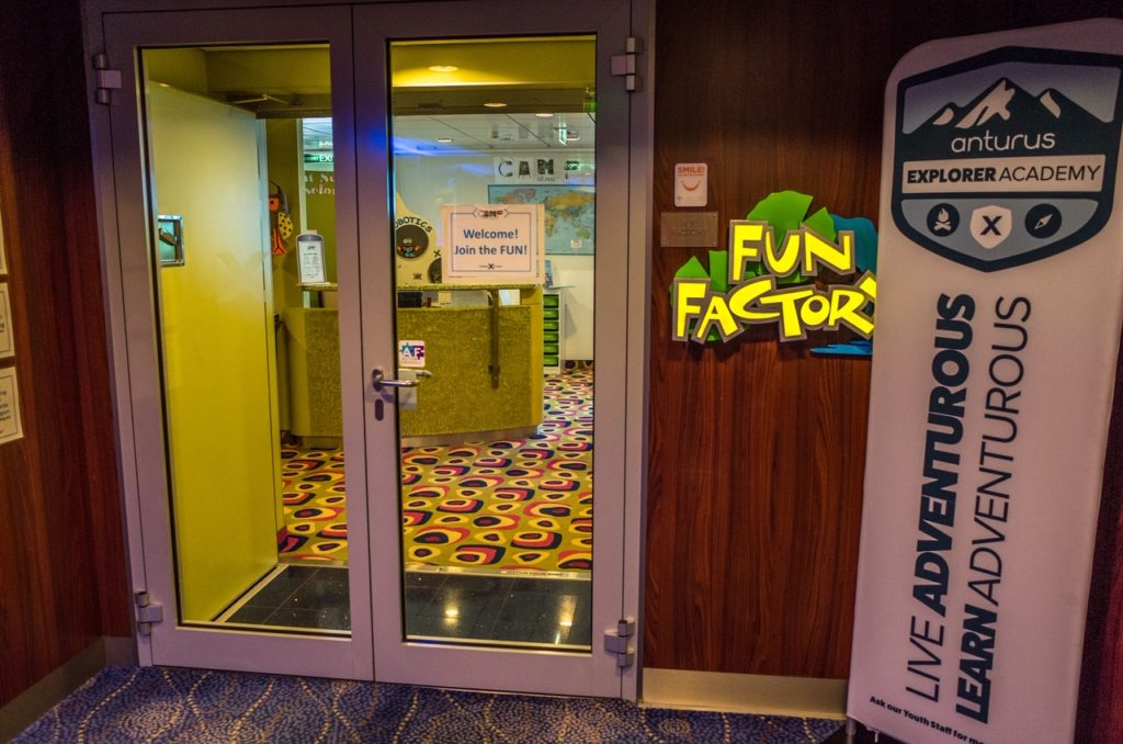 Celebrity Equinox Fun Factory playroom
