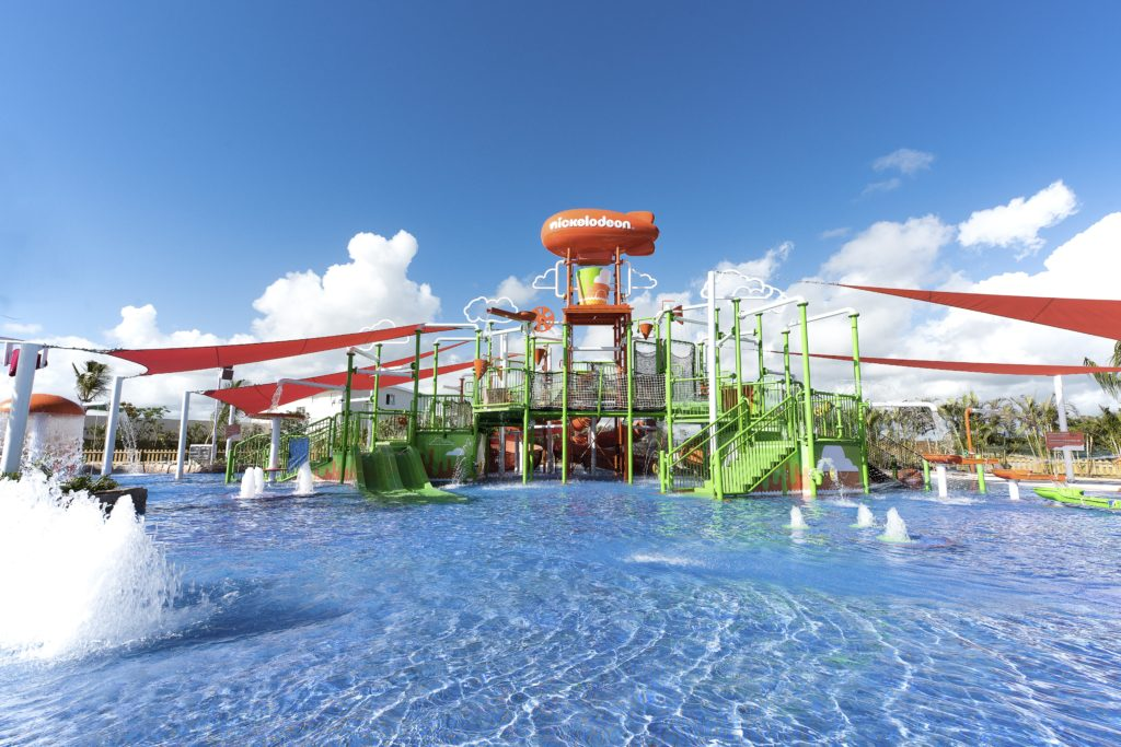 Aqua Nick water park at Karisma's Nickelodeon Resort