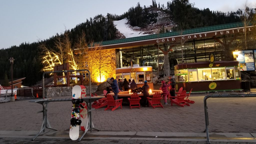 Apres ski at Squaw Valley Village