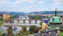 Prague Castle is one of the port excursions on a Uniworld river cruise. Photo c. Uniworld