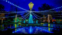 Franklin Square Electrical Spectacle light show has a New Year's party just for families.