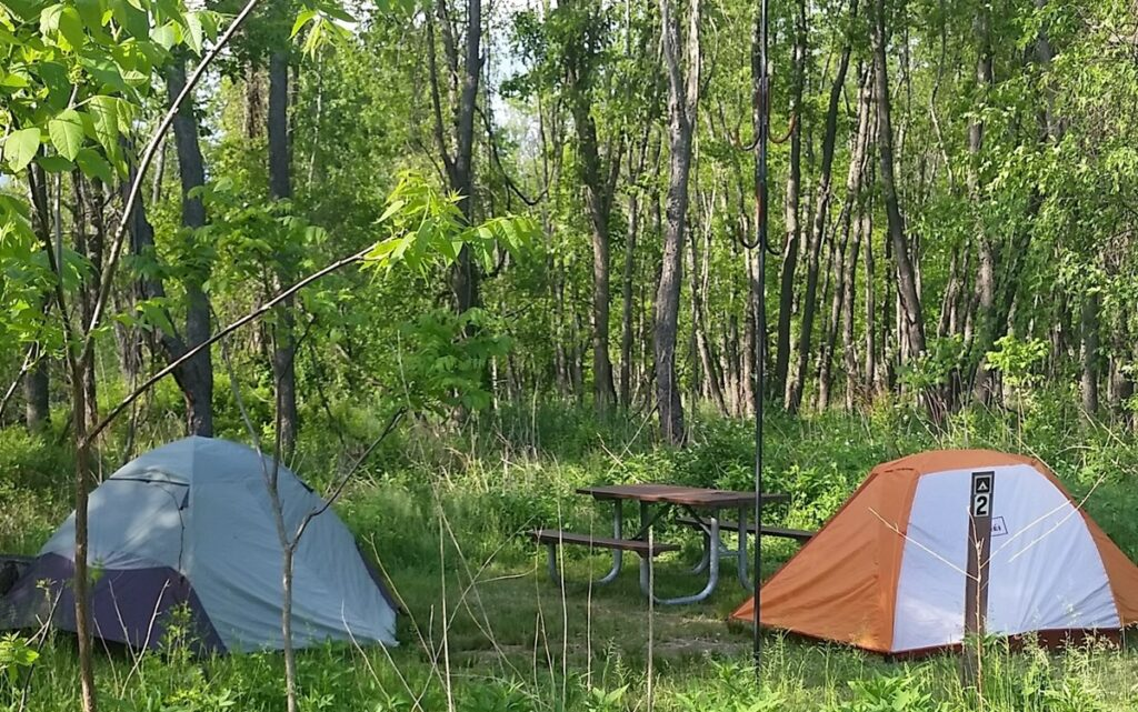 Cuyahoga Valley National Park campgrounds.