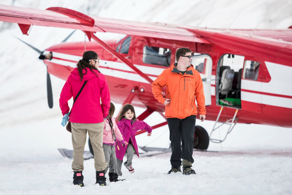 "Princess Cruise Line ""Glacier Landing Excursion"" in Denali."