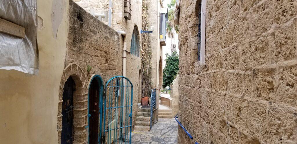 Back lanes of Jaffa