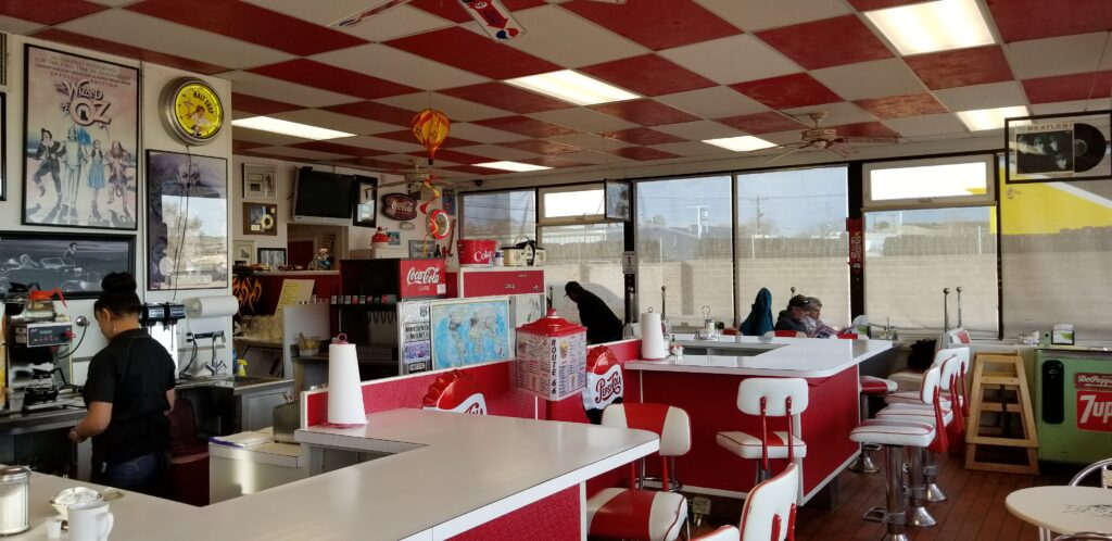 Retro Route 66 Diner in Gallup, NM