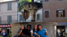 Enjoying the Piazza