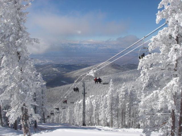 The Millennium chairlift at Ski Santa Fe.