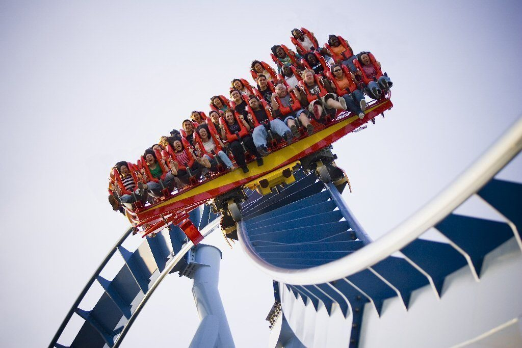 Busch Gardens Virginia coaster