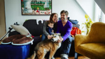 An Airbnb host family