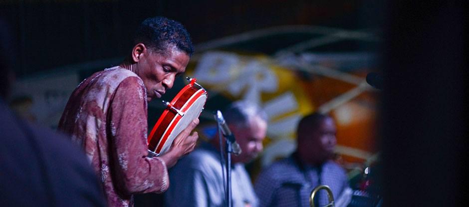 William Cepeda performs at the Dominican Republic Jazz Festival