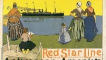 Commercial Poster for Red Star Line cruises