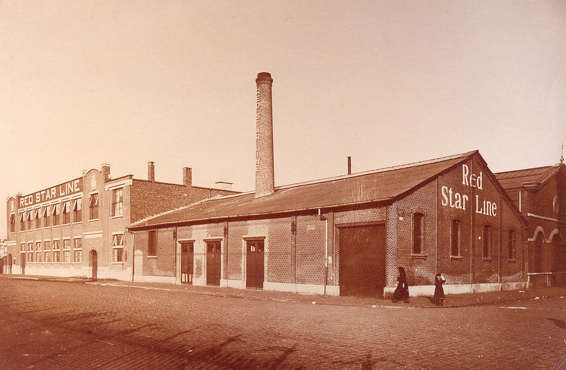 Original Red Star Line warehouse