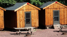 The bunkhouse at Whitewater Challengers Camp