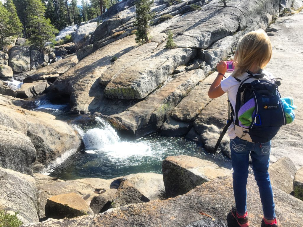 Hiking in the County of El Dorado, great area to take kids