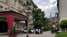 The classic Brenners Park-Hotel is on a quiet street in the old town of Baden-Baden.