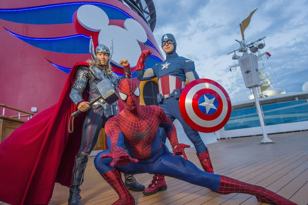 Marvel Superheroes on Disney Cruise Lines