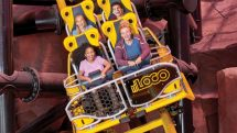 El Loco at the Circus Circus Hotel's Adventuredome is an indoor roller coaster.