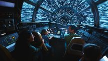 Millennium Falcon: Smugglers Run, a Disney attraction.