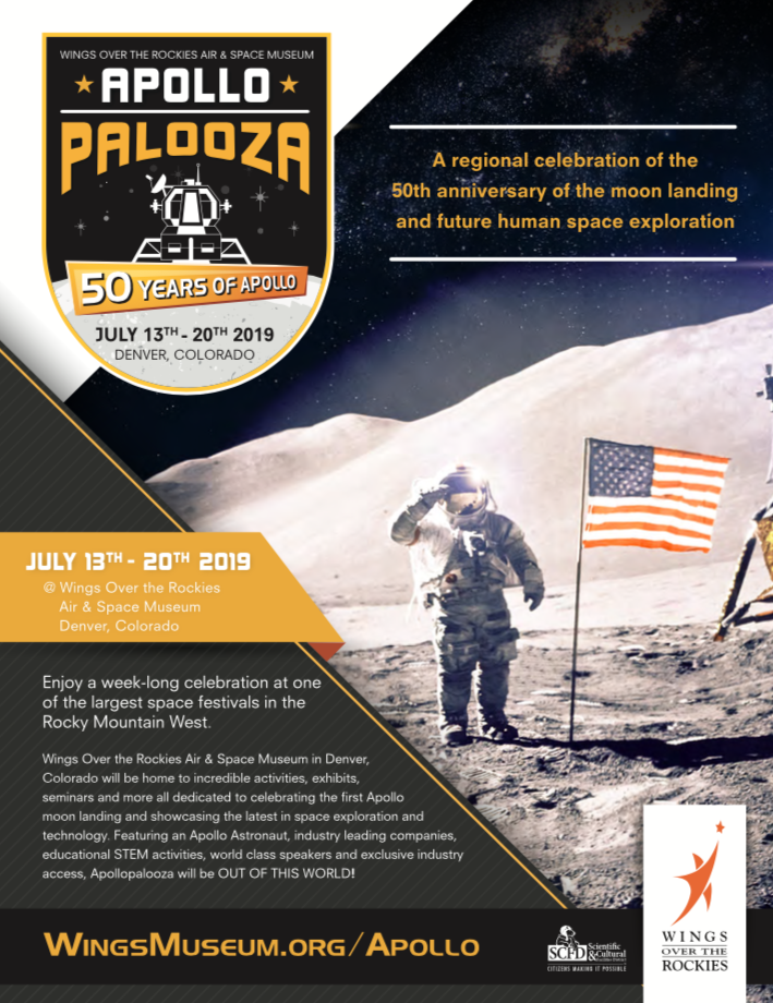 Apollo Palooza Festival comes to Denver's Wings over the Rockies Museum