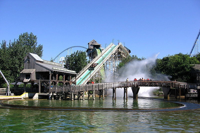 Snake River Falls at Cedar Point