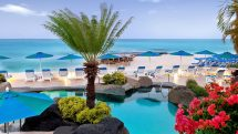 Crystal Cove Beach and pool
